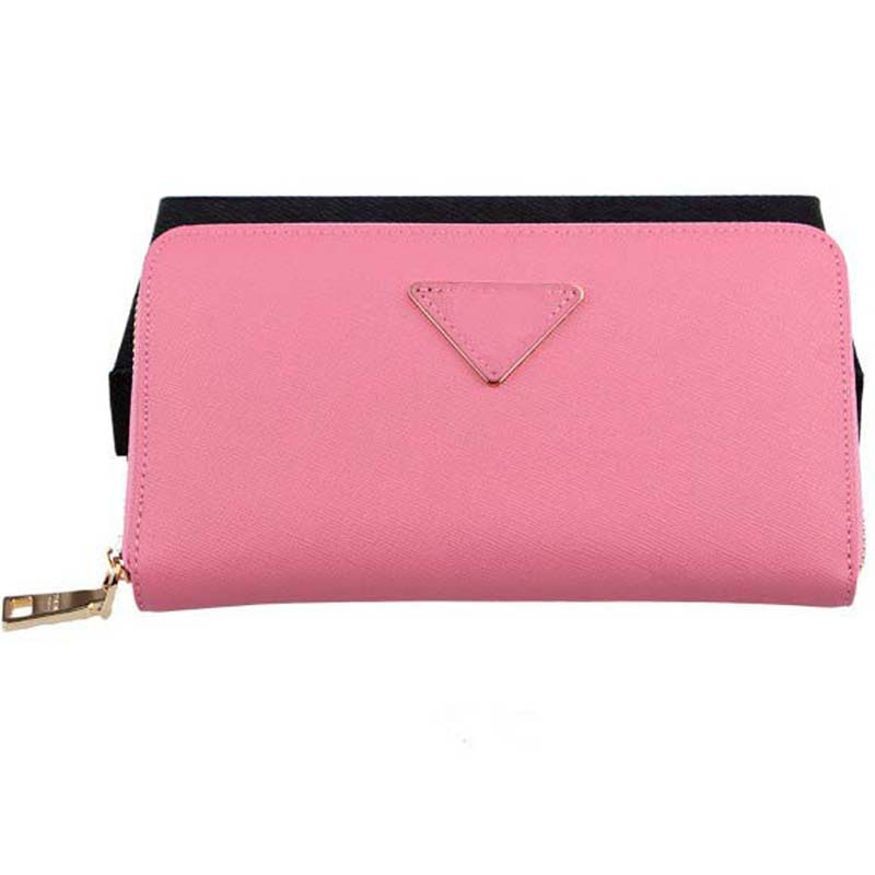 brand real leather women wallet 0506 zipper logo women purse large capacity cash card case high quality women purse(China (Mainland))