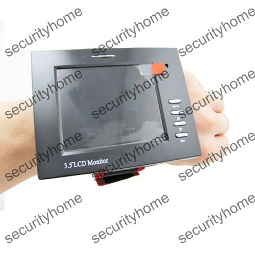 """3.5"""" LCD Portable CCTV Security Camera Tester Wrist Strap Color TFT Test Monitor(China (Mainland))"""