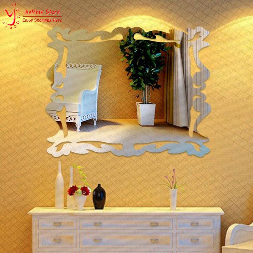 Free Shipping Large 3D Acrylic Relief Bathroom Tile Acrylic Wall Art