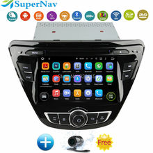 Android 5.1 Car DVD GPS for Hyundai Hyundai Elantra 2013 2014 2015 with Capacitive screen 1.6G CPU Quad Core 1G RAM Stereo NAVI(China (Mainland))