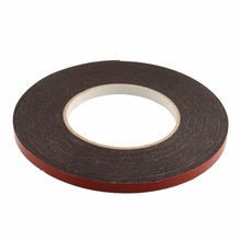 Double Sided Car Auto Vehicle Moulding & Badge Number Plates Foam Sticky Tape Strong Adhesive 6mmx10m (China (Mainland))