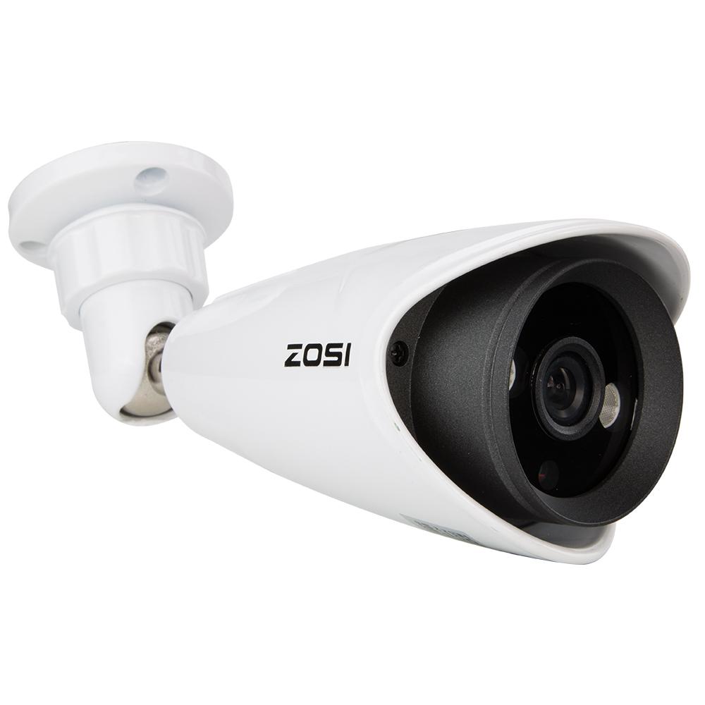 ZOSI 800TVL CCTV Security Camera Weatherproof Outdoor Day/Night 2pcs Array Leds 200ft Bullet with bracket camaras de seguridad(China (Mainland))