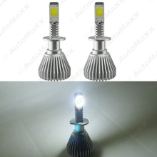 Buy 2Pcs Super White 60W 6400LM H1 Car COB LED Headlight Kit Fog Lamp Bulbs Light Xenon 6000k #J-2400 for $16.93 in AliExpress store