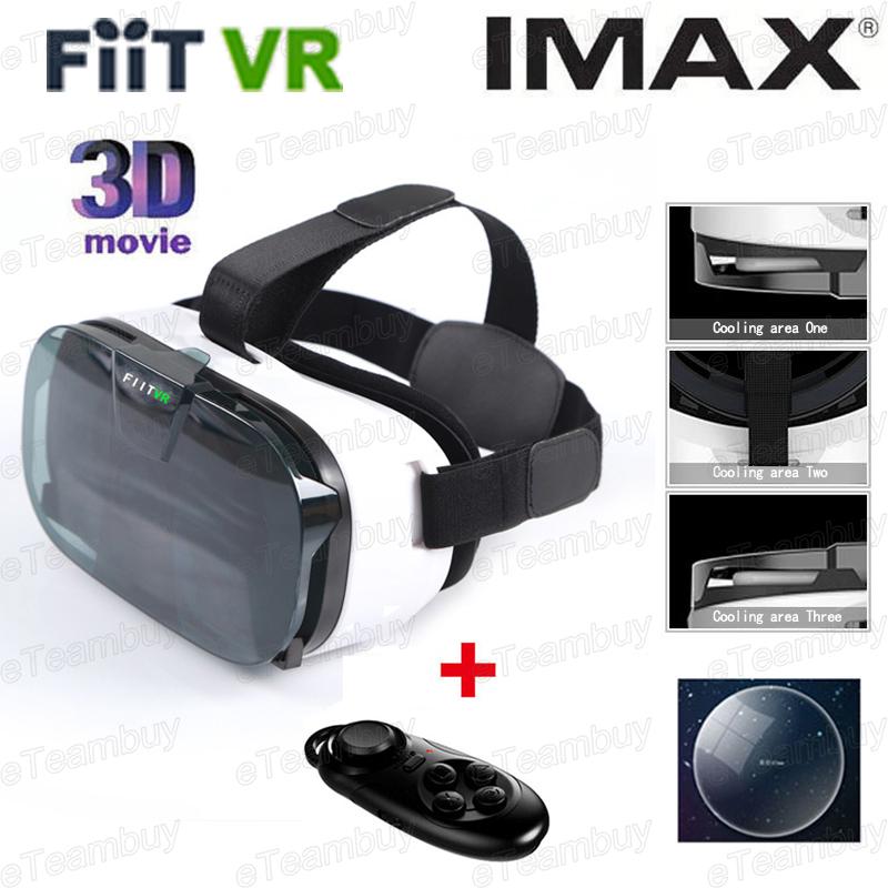 Moke  Plastic Version VR 3D Glasses google cardboard HD VR Glasses + Phone Bluetooth Wireless Mouse gamepad<br><br>Aliexpress