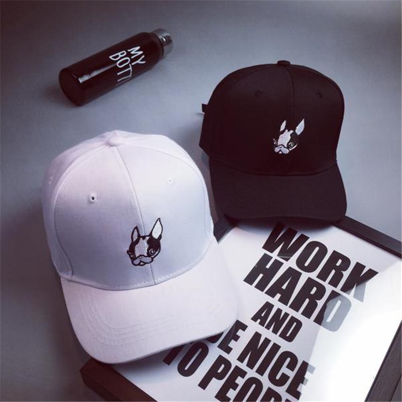 Embroidery Cartoon Dog Baseball Cap Snapback Hats For Men Women Hat Femmes Bones Bone Gorras Casquette De Marque Polo Cap(China (Mainland))