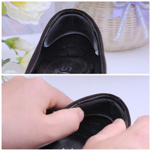 5 Pair Silicone Gel Heel Cushion Shoe Pads Foot Care insole Protect and relax heels(China (Mainland))
