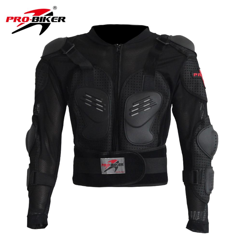 Pro-Biker Motorcross Racing Motorcycle Body Armor Black Motorcycle Riding Body Protection Jacket(China (Mainland))