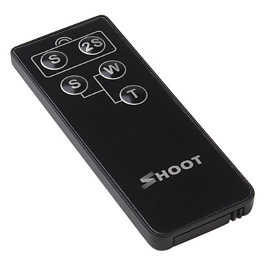 SHOOT RC-1 Wireless Remote Controller Switch for Canon 400D 350D 300D a1 a2 a3 a5 S70 S60 Pro1 Pro90(China (Mainland))