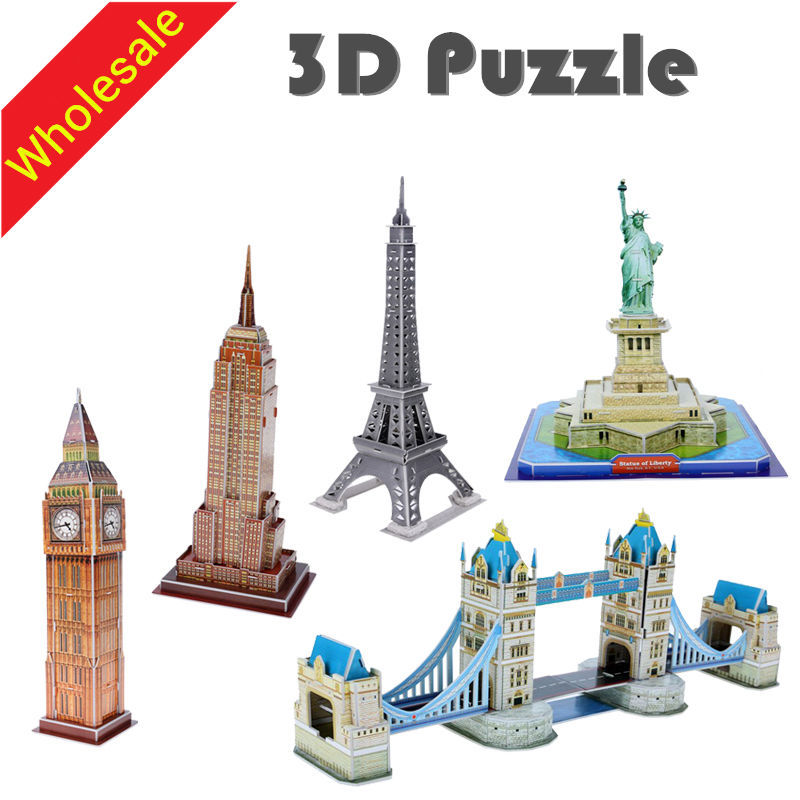 Gros 3d Puzzles Enfants Jouets