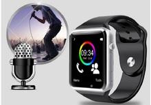 А1 Bluetooth смартфон часы Montre разъема андроид Smartwatch для IOS mobilephone