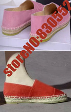 designer Espadrilles newest arrival Canvas Flats Shoes brand casual women Classic creepers loafers Fashion Driving Shoes C015