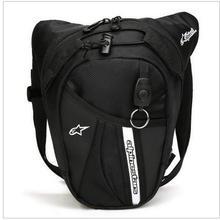 free shipping 2017 new waist Bag Waterproof Nylon Travel Bag Men Black Drop Leg bag Motorcycle Fanny Pack Waist Belt Bag(China (Mainland))
