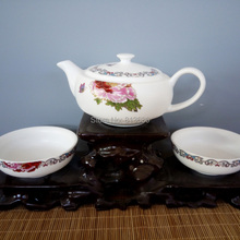 New Arrival Porcelain Tea Pot and Cup Traditional Chinese Teapot Set Free Shipping
