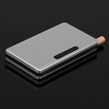 Retro tobacco box Metal Smoking case for men cigarette Auto Aluminum case cover for smoking can pack 6 pcs cigarette