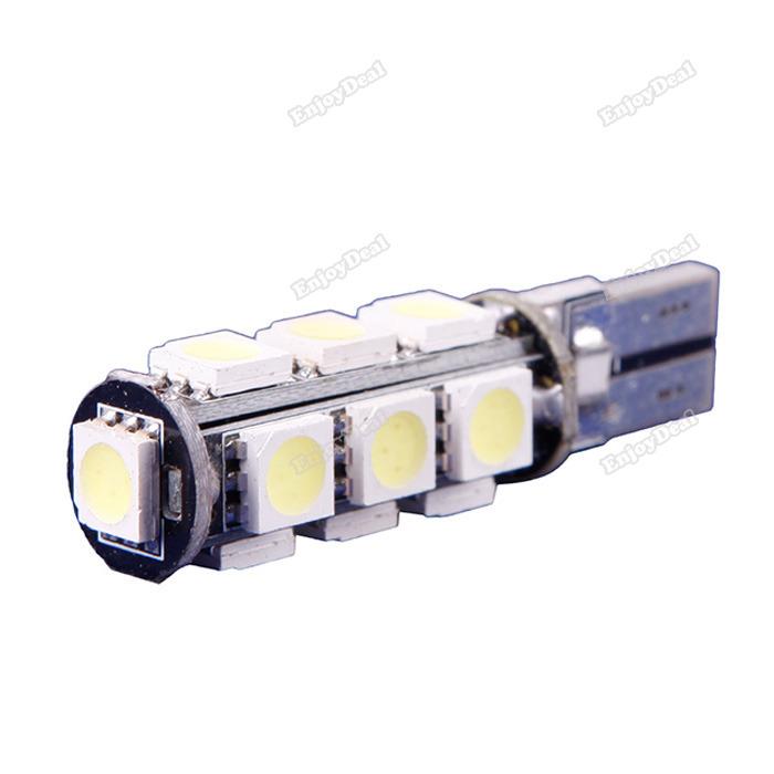 tradeward Affordable! T10 13 SMD 5050 Pure White CANBUS Error Free Interior Car W5W LED Light Bulb 12V More benefit(China (Mainland))