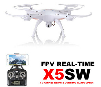 Best Seller SYMA X5SW / X5SW-1 WIFI RC Drone Quadcopter With FPV Wifi Camera Headless Real Time RC Helicopter Quadcopter Drone