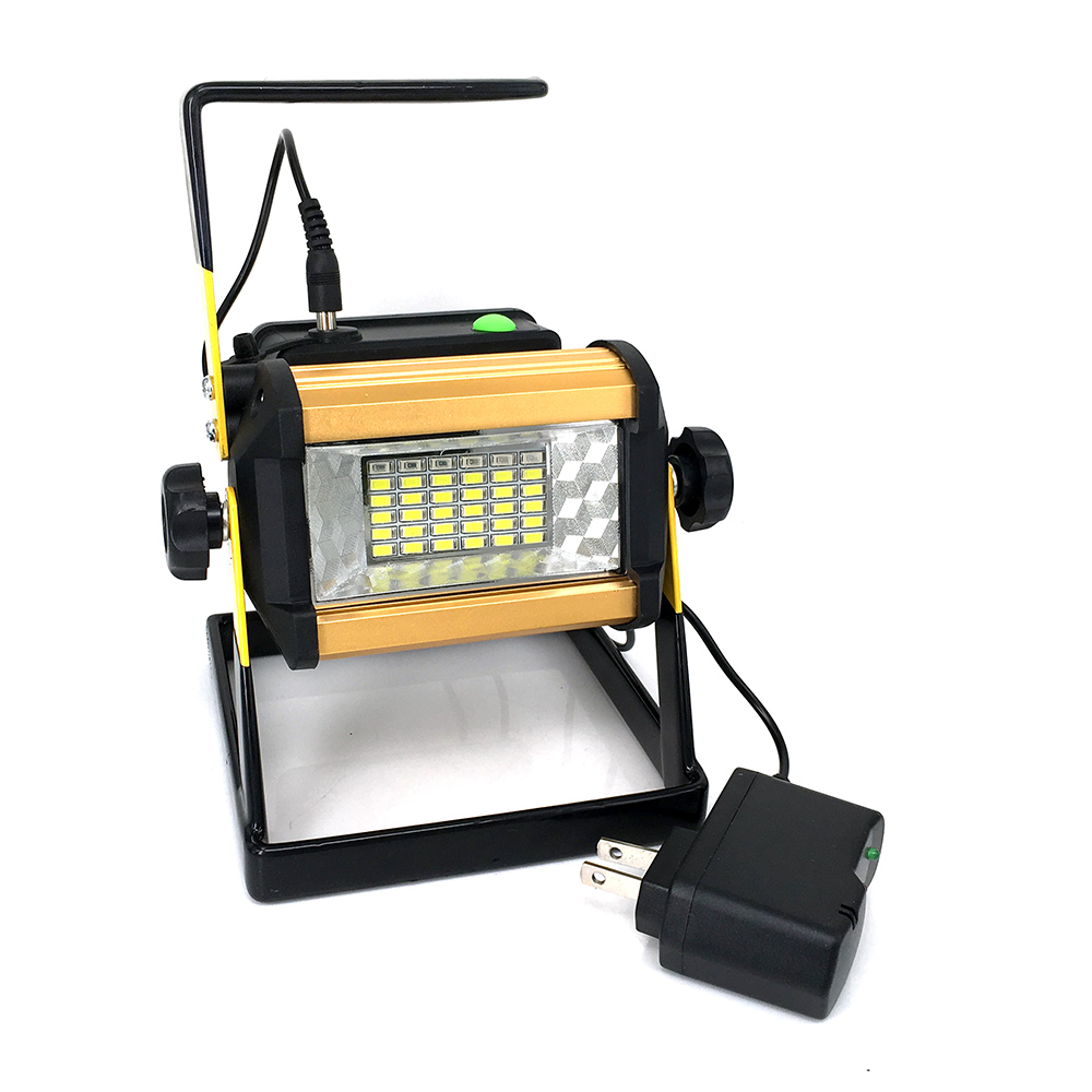 IPX67 36LED Floodlight Portable Rechargeable Work Spotlight LED flood light for Camping Fishing Outdoor Indoor +18650 battery(China (Mainland))