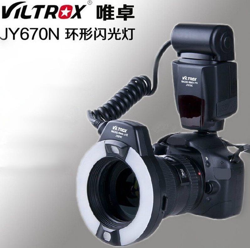 VILTROX JY670N Macro Flash Annulaire pour Nlkon / i-TTL D5300 D5200 D3300 D3200<br><br>Aliexpress