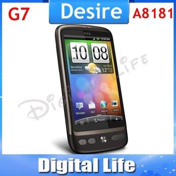 Original HTC Desire A8181 G7 WIFI GPS 3.7''TouchScreen 5MP Unlocked Cell Phone