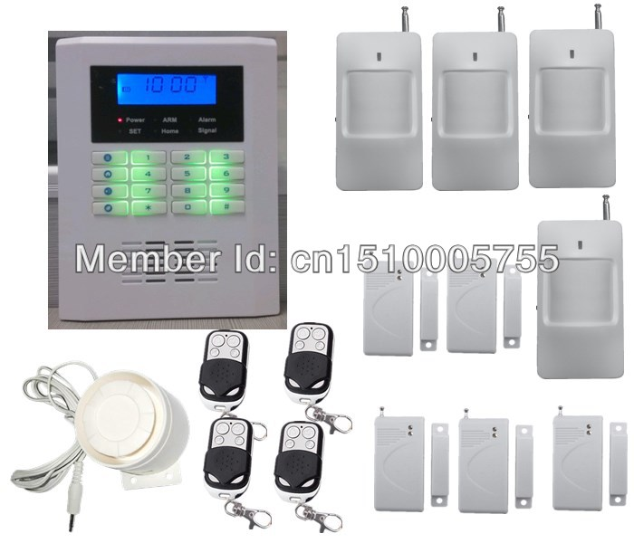 diy security smart home alarm system wireless dual network