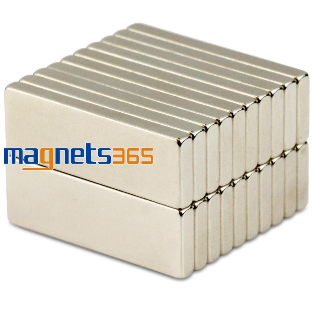 20pcs N50 Strong Block Cuboid Magnets 30mm x 10mm x 3mm Rare Earth Neodymium<br><br>Aliexpress