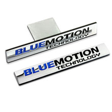 Buy 1 PCS BLUEMOTION Car Body Side Fender Badge Emblem car Sticker Beetle Scirocco GT Golf MK5 MK6 MK7 Car Styling for $2.99 in AliExpress store