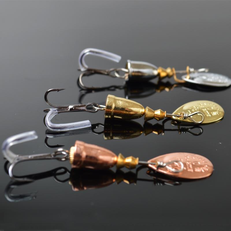 10pcs/lot Spinner Bait Fishing Bass Baits Fishing Lures spinner blades Vibrax Fishing Hooks size 0# 1# 2# 3# 4# 5# 6#(China (Mainland))