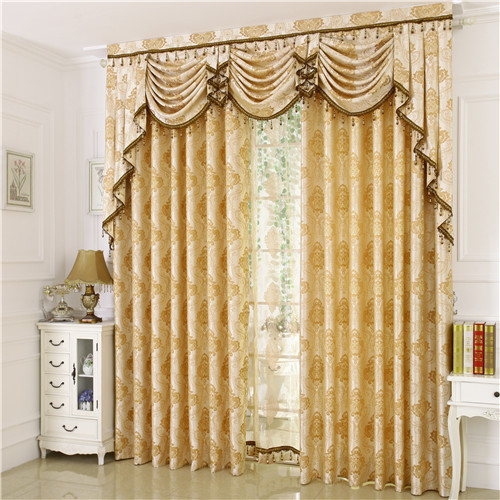 Jacquard roman blinds fashion luxury home textile finished product bedroom curtain new arrival - Curtain new design ...