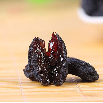 2015 New arrival Snack dried fruit raisin blackcurrant 500g famous brand in China leisure foods with