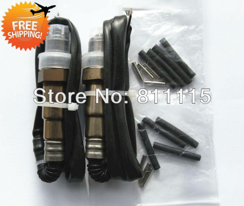 Free Shipping 0258986617 Universal Oxygen Sensor Lambda Sensor for VW, Zirconia 4 wire O2 sensor(China (Mainland))