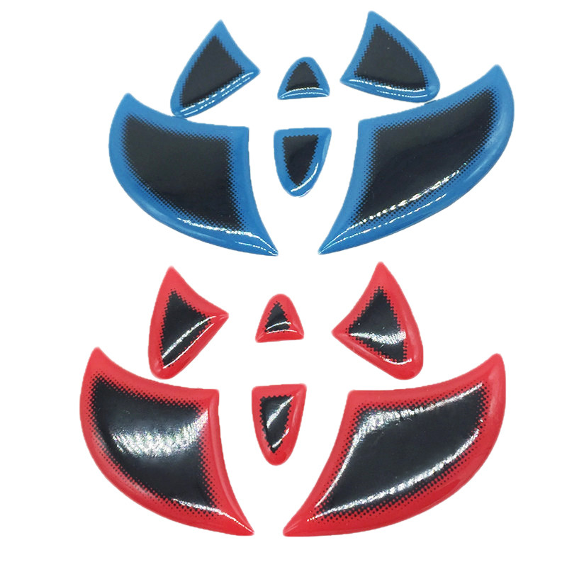 Car Sticker Front Rear Emblem Badge Steering Wheel Tail Logo Decal Cover For Toyota Highlander RAV4 Camry Corolla Prius Vios(China (Mainland))