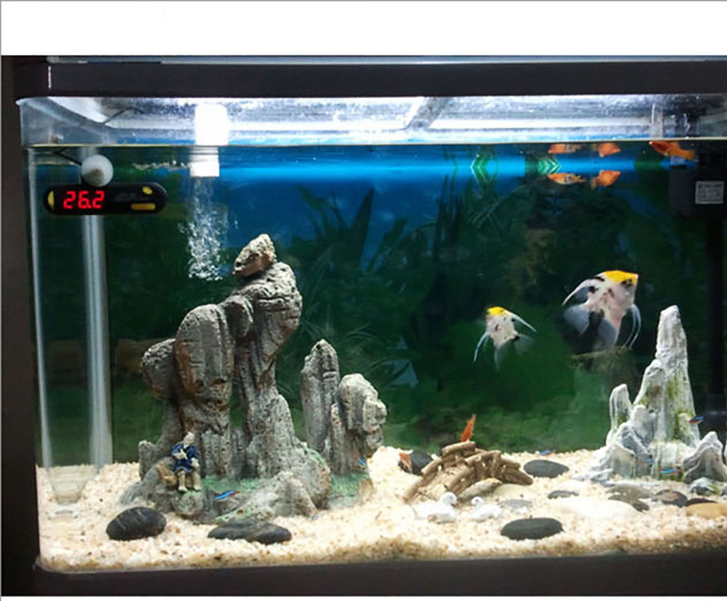 Купить 6 Вт сине-белый свет можно растянуть кронштейн из светодиодов аквариум ( 110 - 240 В )