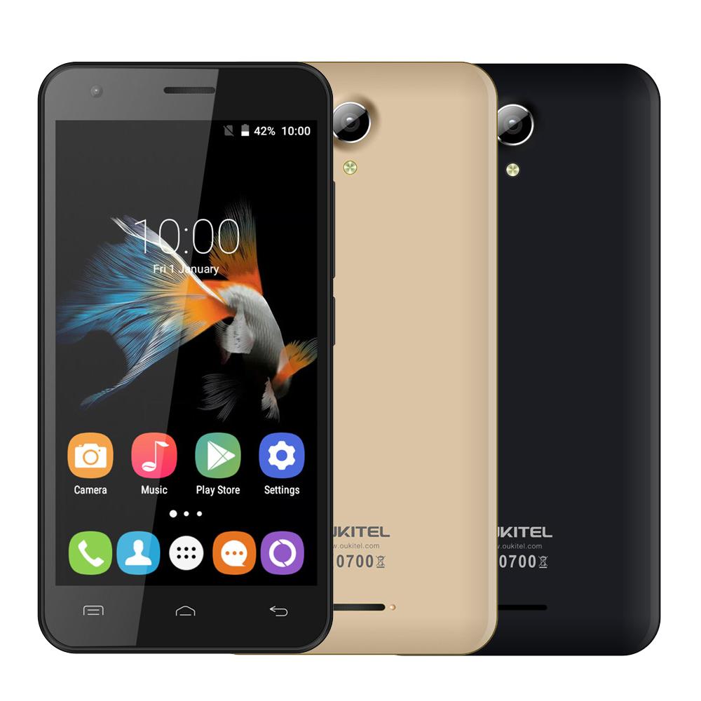 "2016 Original Oukitel C2 MTK6580M Quad Core 1.3GHZ 4.5""Screen Android 5.1 4G FDD LTE Mobile Phone 1GB RAM 8GB ROM 5.0MP Dual SIM(China (Mainland))"