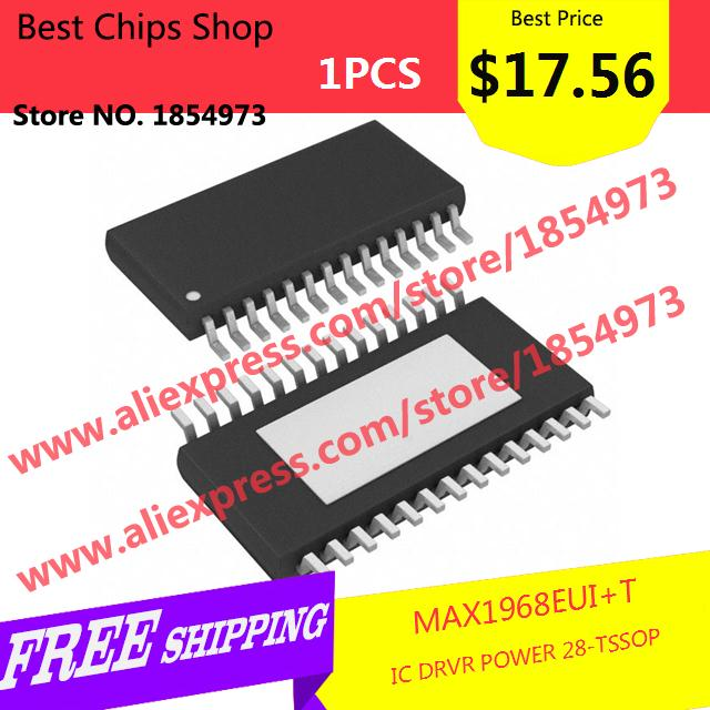 Free Shipping 1PCS=$17.56 Hot Sale Smart Electronics Integrated Circuit MAX1968EUI IC DRVR POWER 28-TSSOP 1968 MAX1968 1968E(China (Mainland))