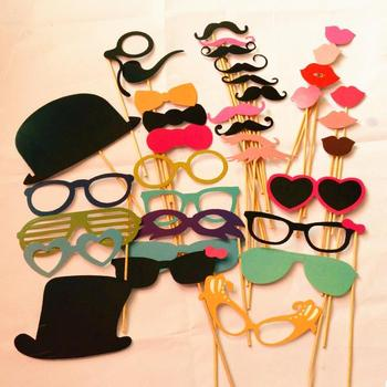 2015 new year Photo Booth Props Paper crafts Wedding Sign Photo Prop Wedding Party favor decoration