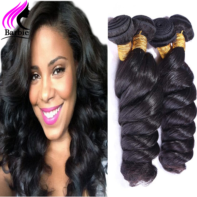 Гаджет  Peruvian Virgin Hair Loose Wave 4 Bundles 8-30 Inches Peruvian Loose Wave 4pcs Human Hair Extension Aliexpress UK Natural Black None Волосы и аксессуары