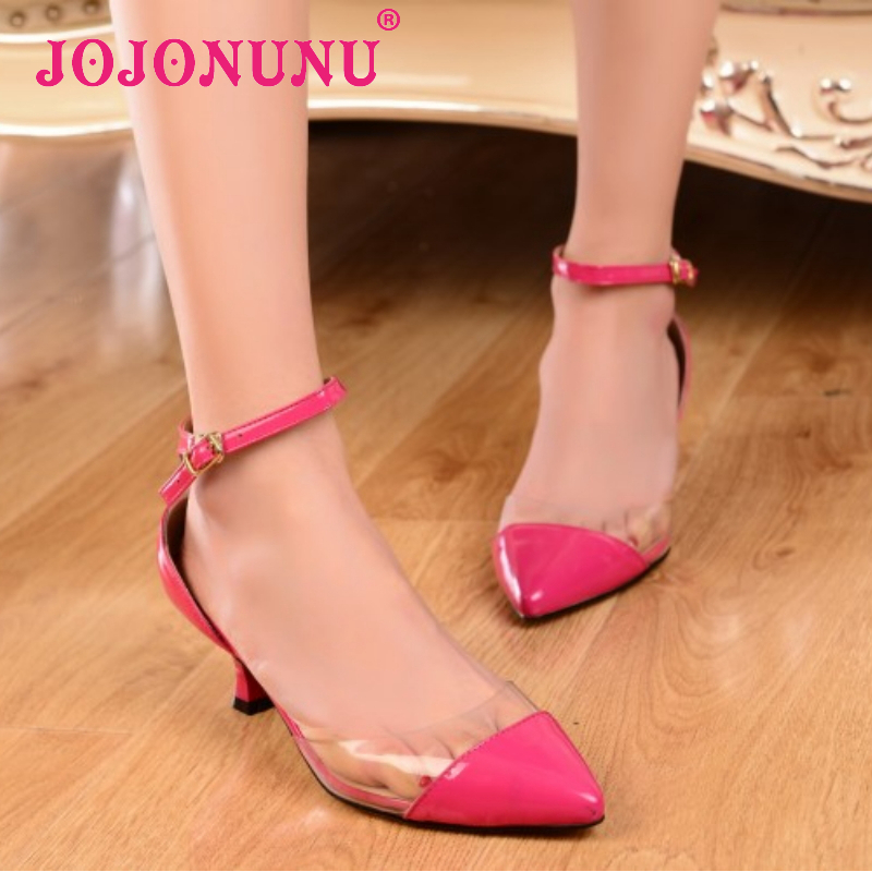 women real genuine leather stiletto pointed  toe party high heel sandals brand sexy fashion heeled ladies shoes size 33-40 R6464<br><br>Aliexpress