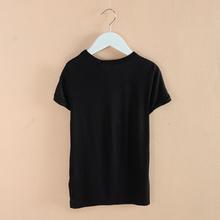 NEW 2015 boy s t shirt 100 Modal Cotton girl T shirt Cool Pattern boys Summer