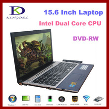 4GB/640GB 15.6″ ultrabook Notebook Laptop Computer with Intel Atom D2500 1.86Ghz  2Threads,DVD-RW,Webcam,Bluetooth,1080P HDMI