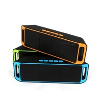 New Arrival SC208 Bluetooth4.0 Speaker 3D Surround Subwoofer Stereo Portable Wireless support TF USB FM Radio Sound Box