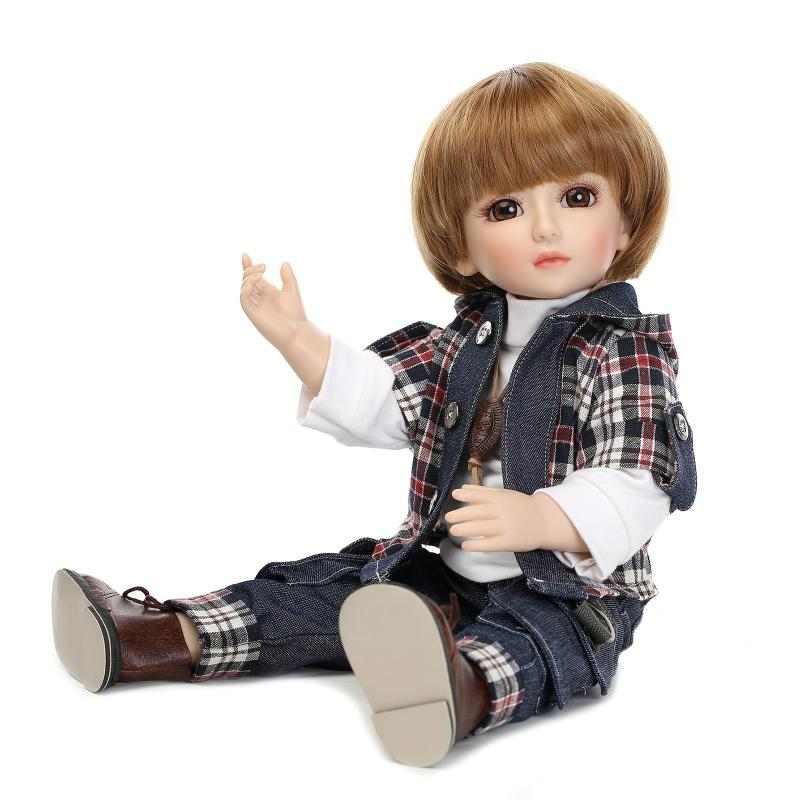 SD/BJD new popular plastic lifelike doll play house dress up doll for kids high-end christmas new year gift boutique collection(China (Mainland))