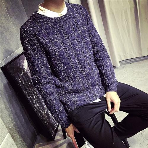 Новое поступление 2015 тонкий мужские свитера мода марка рождественский о-образным вырезом трикотажные свитера мужские пуловеры thicked кашемира свитера