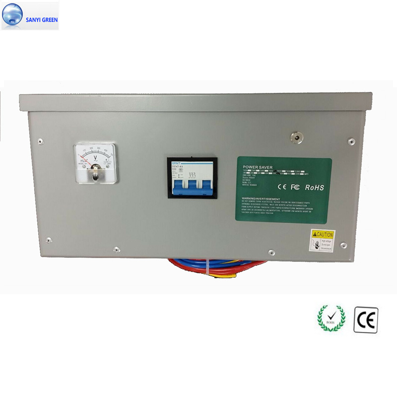 High Capacity 450kw 3 Phase Power Saver Electricity Saving Box for Industrial factory Energy Save Device Voltage Stabilize+CE(China (Mainland))
