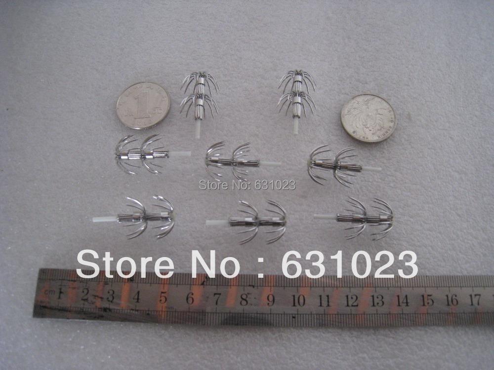 100pcs fishing hooks , squid hooks,squid jigs,silver colour,round hooks(China (Mainland))