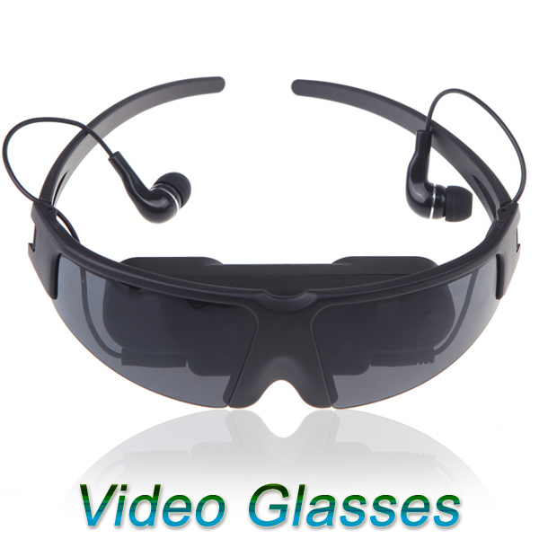 """52"""" 4:3 Radiation-free LCD Technology Virtual Wide Screen Digital Video Glasses Eyewear Mobile Private Cinema Theater(China (Mainland))"""