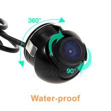360 Degree CCD HD Night Vision Car Rear View Camera Waterproof Front View Reversing backup rearview Camera(China (Mainland))