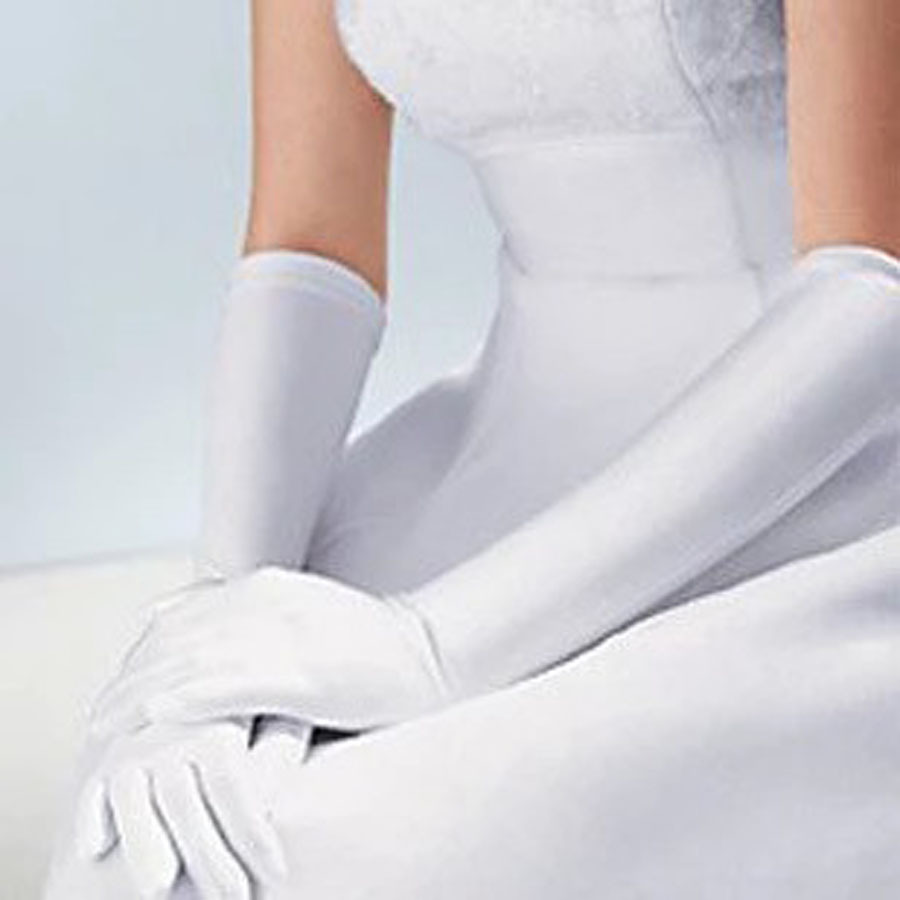 Wedding accessories the bride wedding dress gloves light for Wedding dress with long gloves