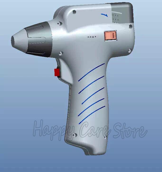 2016 New wireless 6 stalls Professional original 4 Heads chiropractic adjusting instrument /Impulse adjuster/electric Massager(China (Mainland))