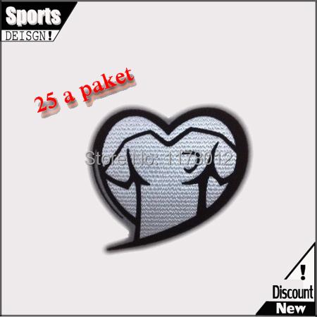 Заплатка для одежды Respect patch 2014/15 2015 PatchES заплатка для одежды velcro patch pvc patch