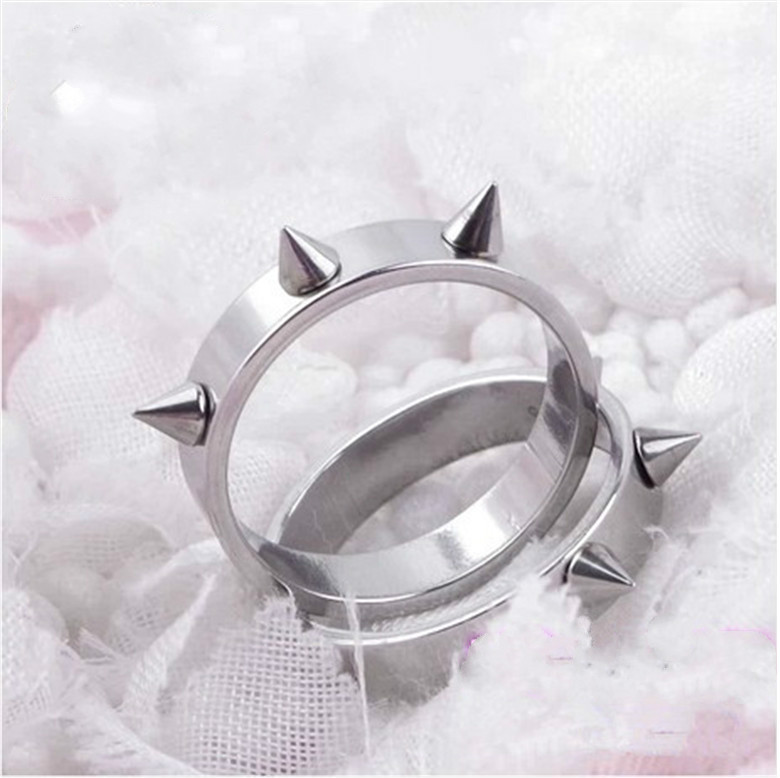 Self Defense Weapon Tool Silver Metal Rings Personal Security Protection(China (Mainland))